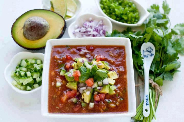 Nutrient-Dense Gazpacho Soup