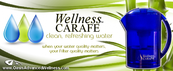ExhibitHealth.com | Wellness Carafe banner