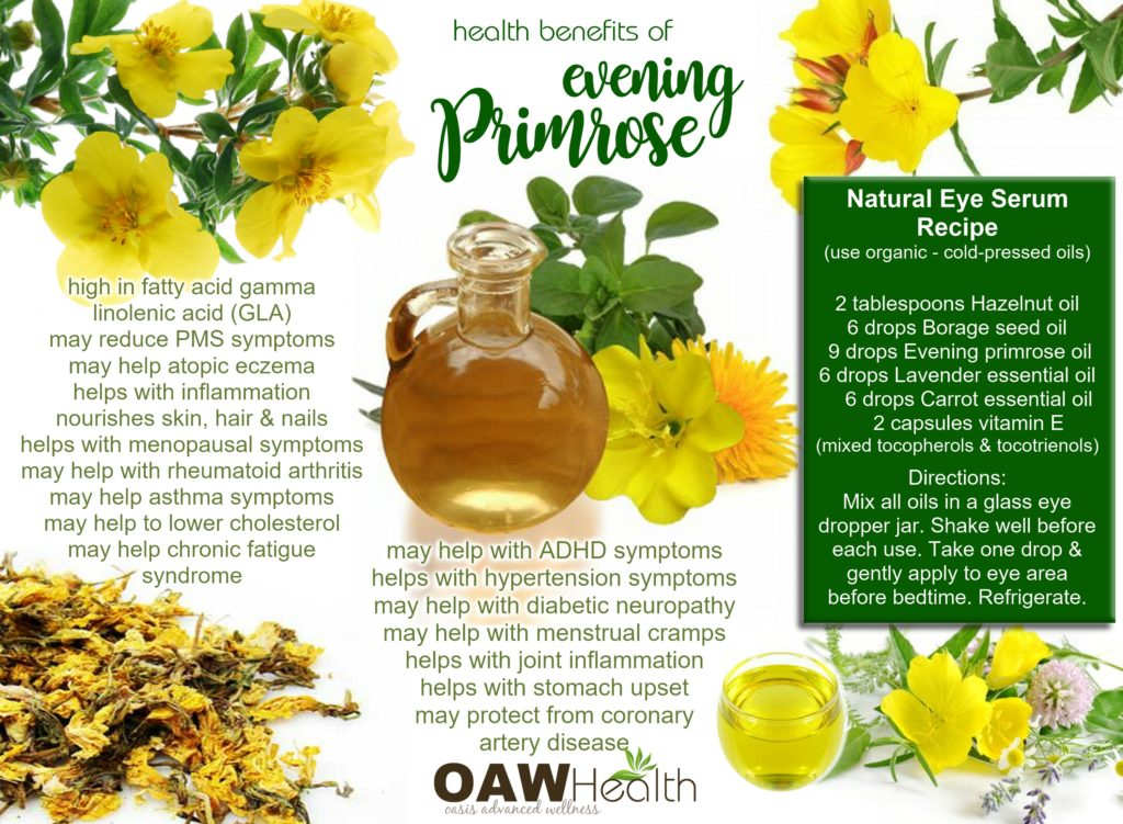Evening Primrose Oil Natural Vitamin E