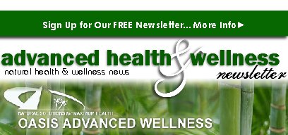Advanced Health & Wellness Newsletter sign up banner