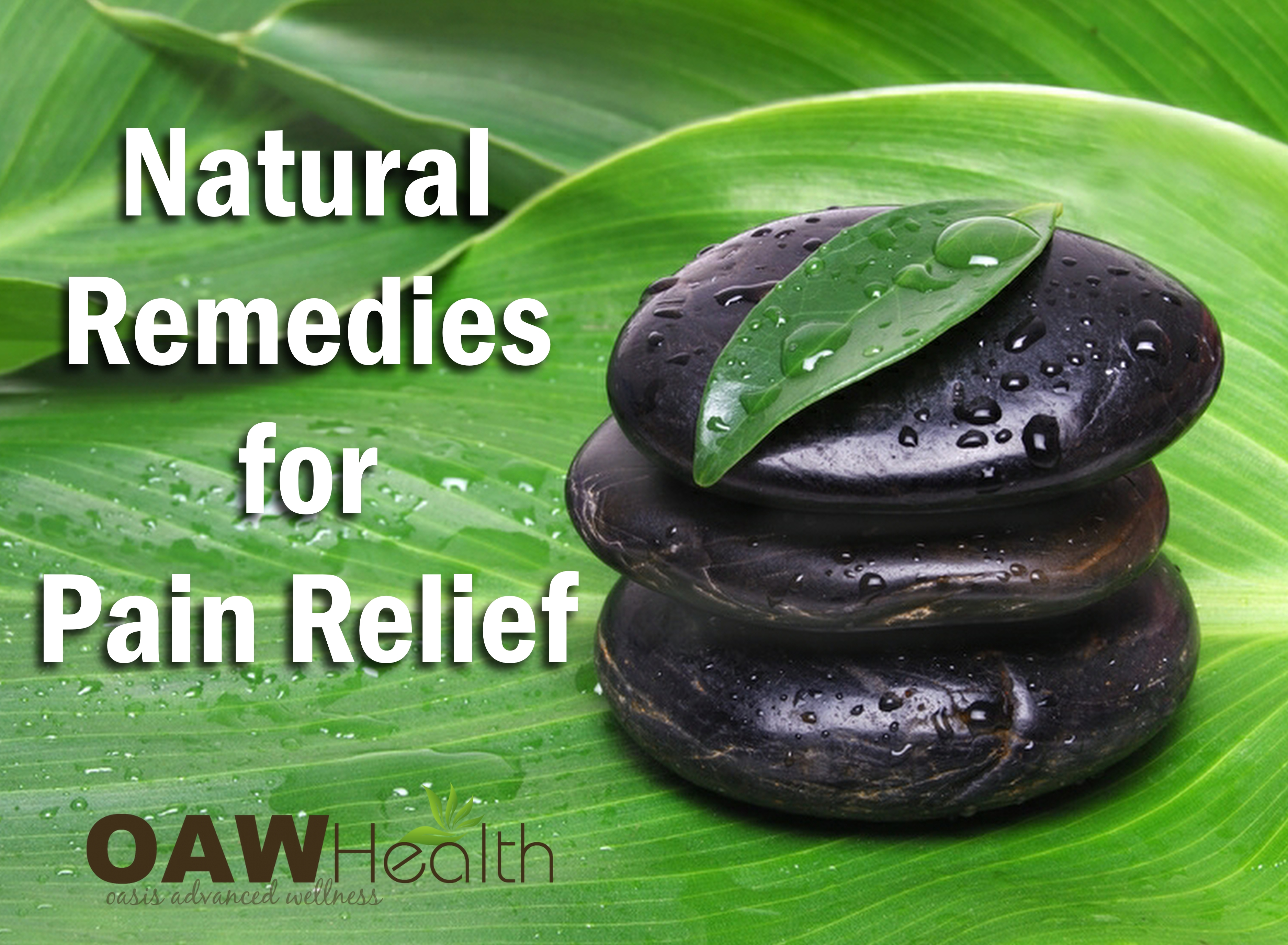 Natural Remedies for Pain Relief
