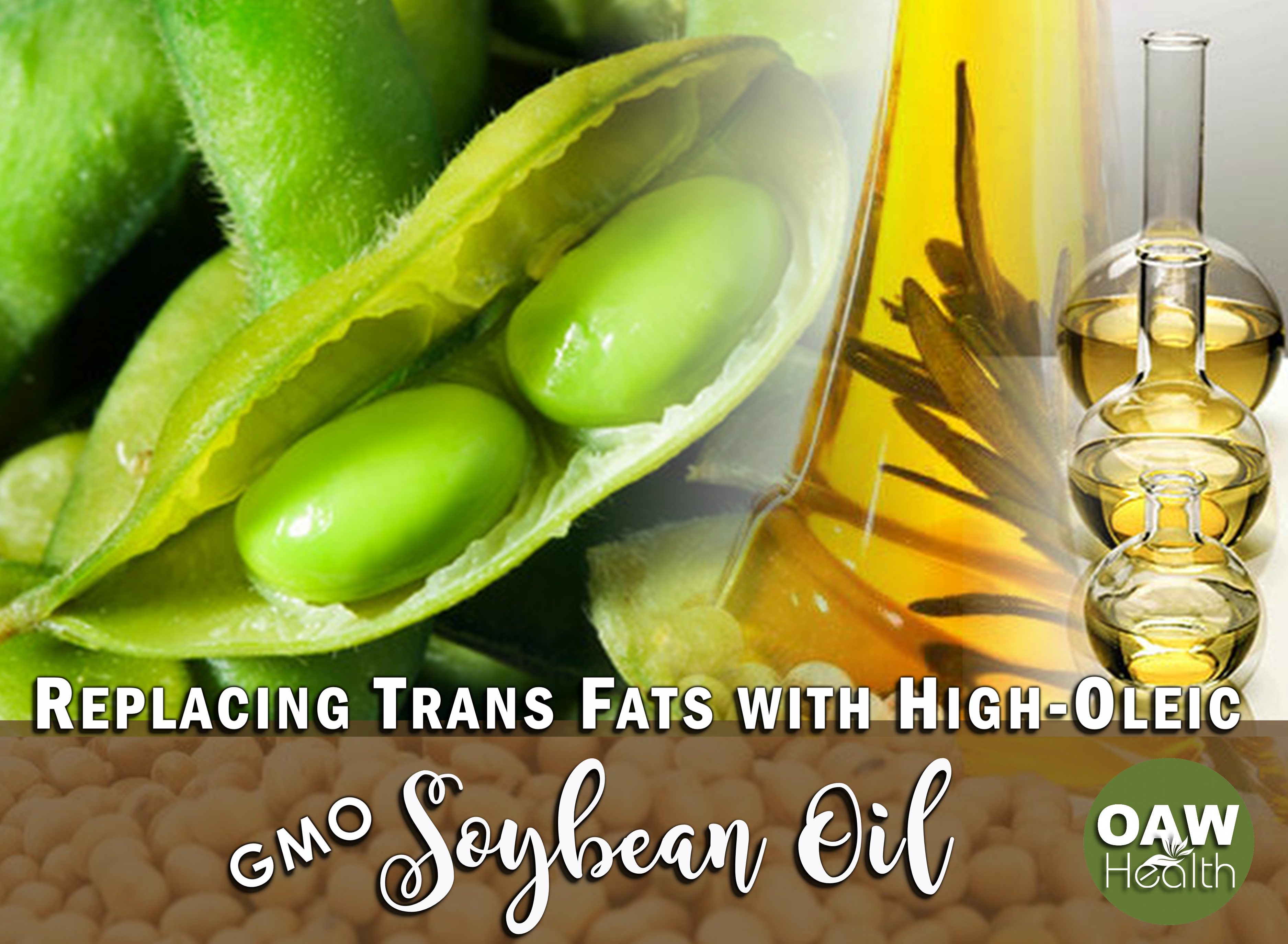 Replacing Trans Fats with High-Oleic GMO Soybean Oil