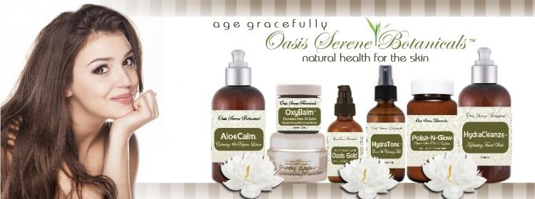 Oasis Serene Botanicals Natural Skin Care
