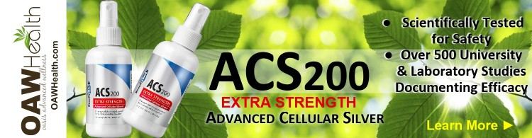 ACS200 Extra Strength Silver