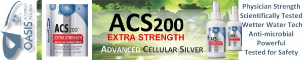 ACS 200 Silver Extra Strength banner