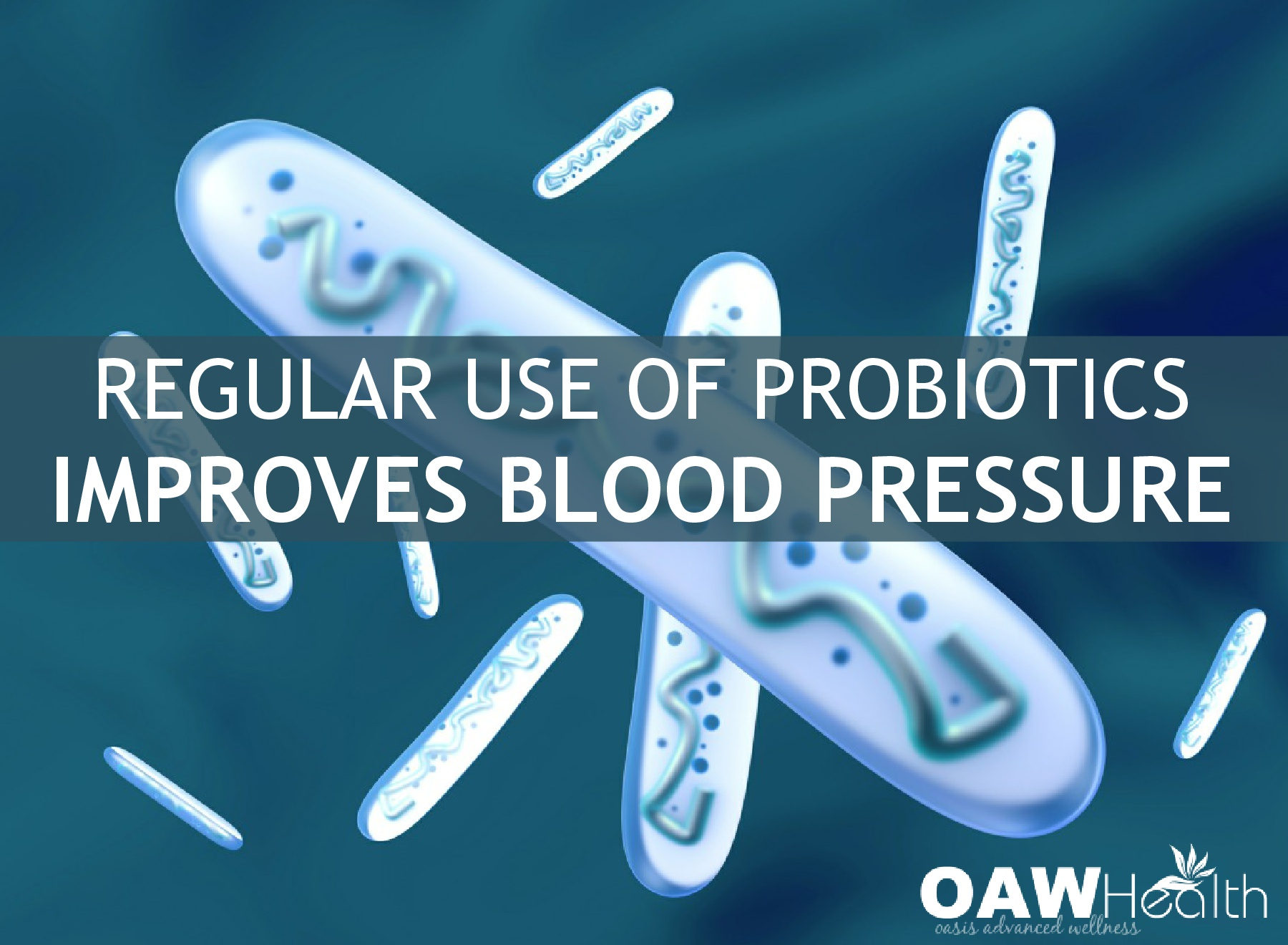 Regular Use of Probiotics Improves Blood Pressure