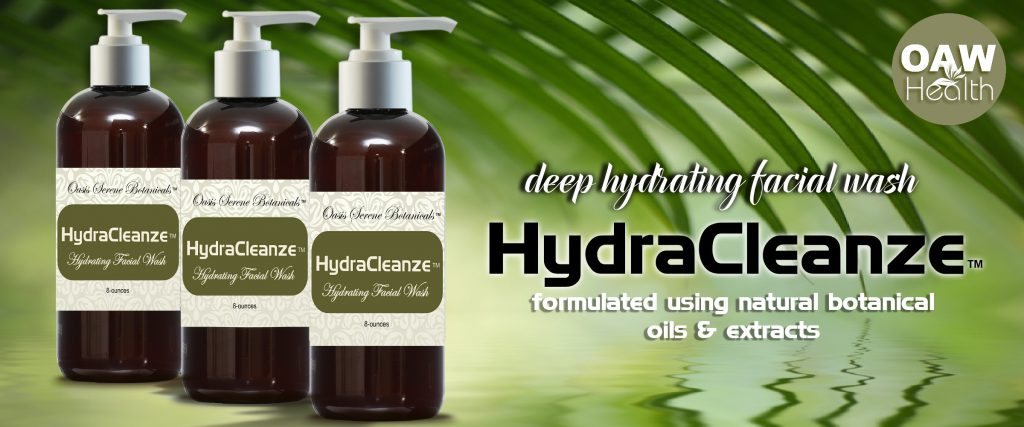HydraCleanze Skin Care Facial Wash