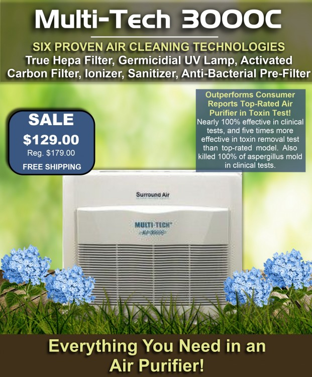 Multitech 3000C Air Purifier