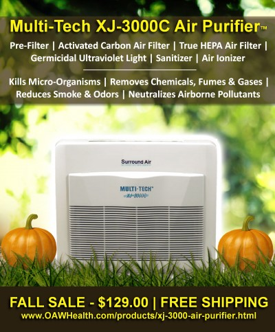 XJ-3000C Air Purifier Sales Banner - FB