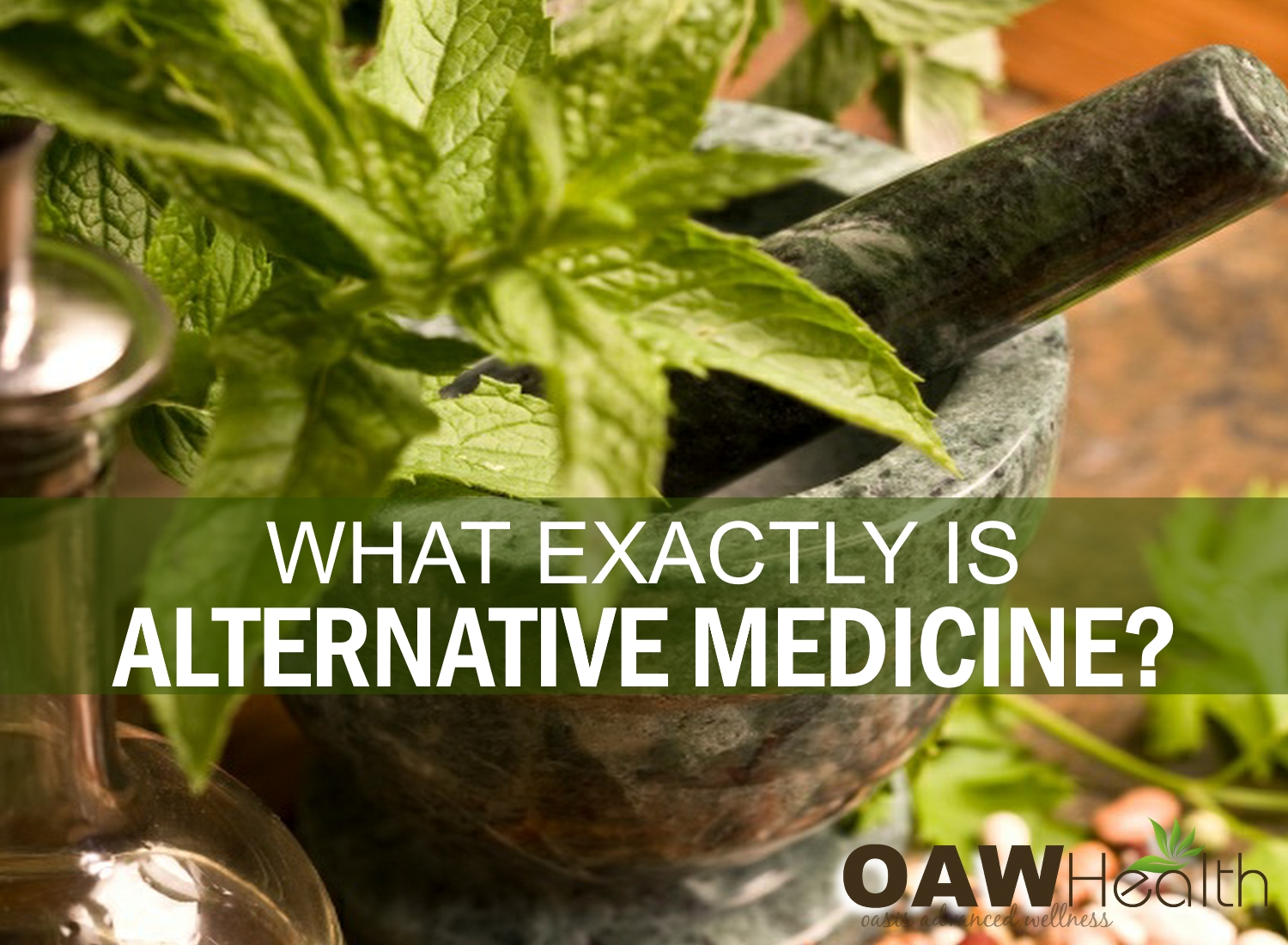 What Exactly is Alternative Medicine?