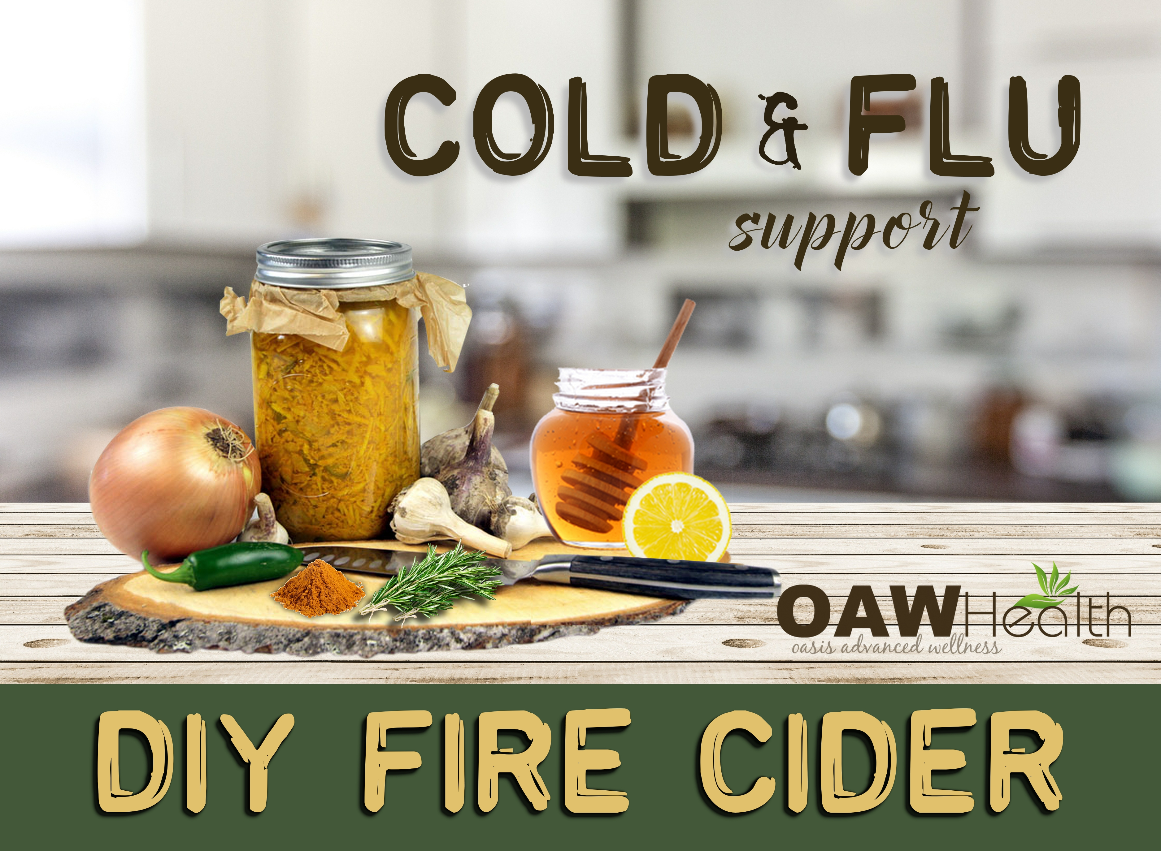 Fire Cider Recipe – Cold & Flu Folk Remedy