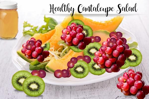 Healthy Cantaloupe Salad