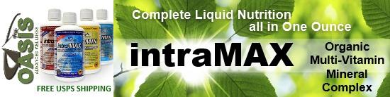 intraMAX organic multivitamin
