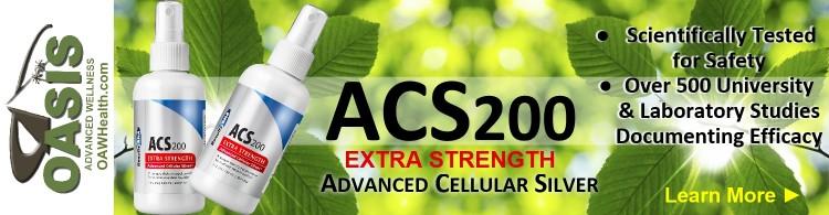 ACS200 Silver Extra Strength