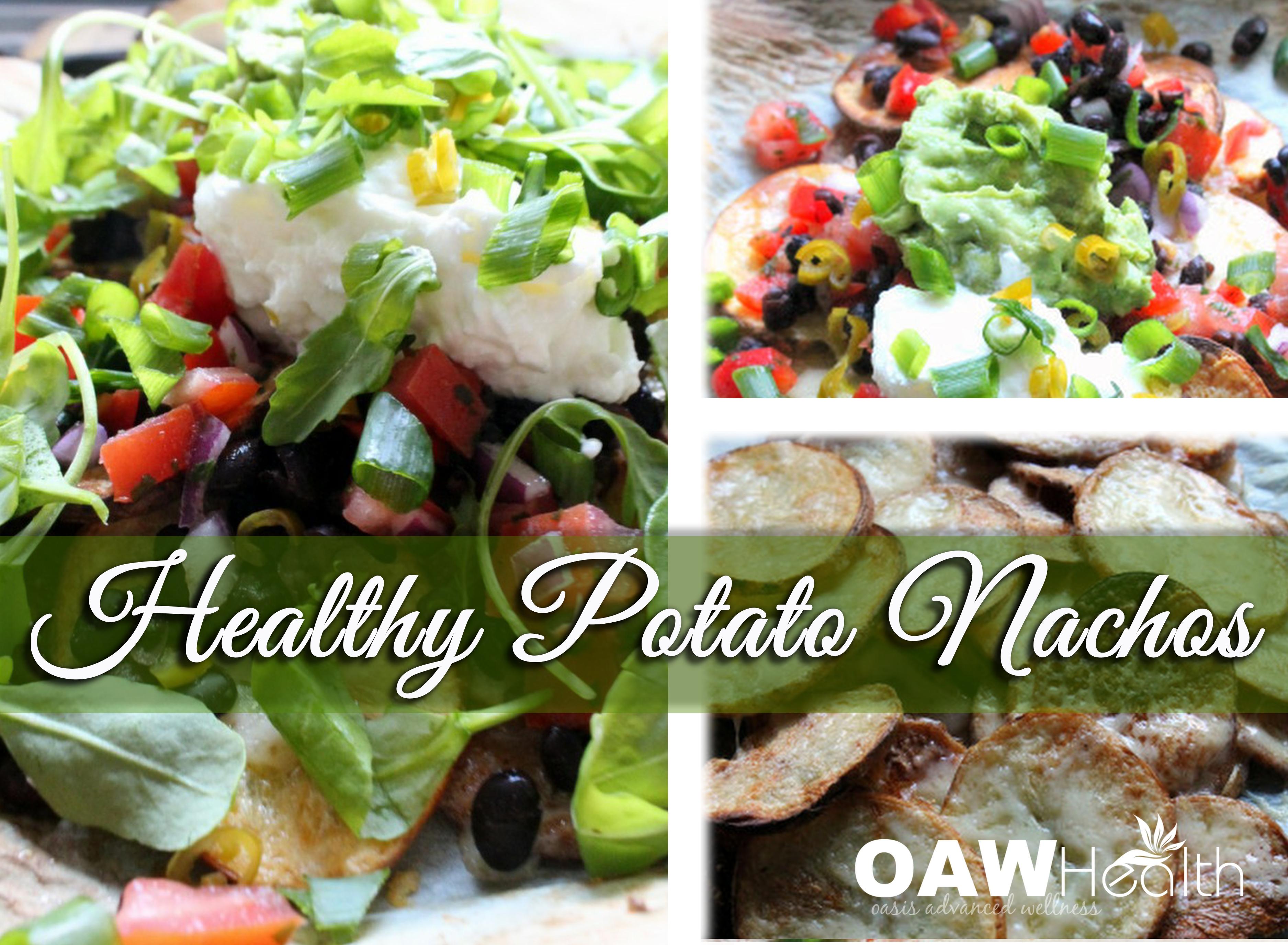Healthy Potato Nachos Recipe