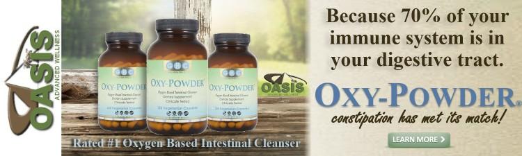 Oxy-Powder Intestinal Cleanser