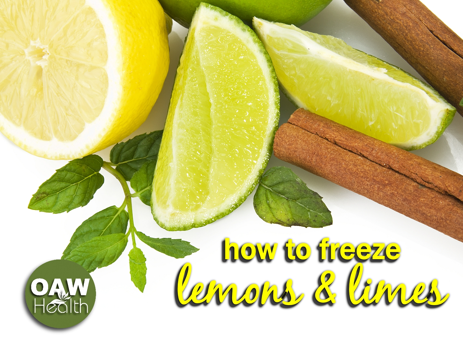 How to Freeze Lemons and Limes