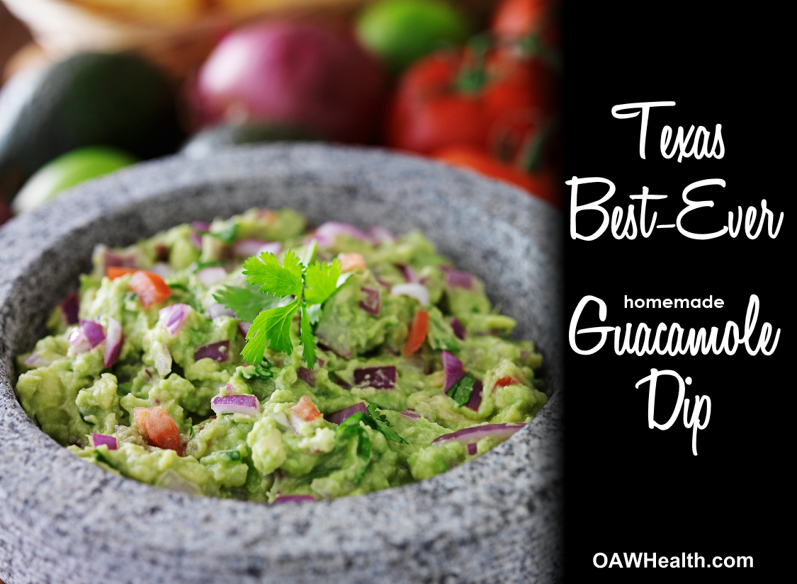 Texas Best-Ever Guacamole Dip Recipe