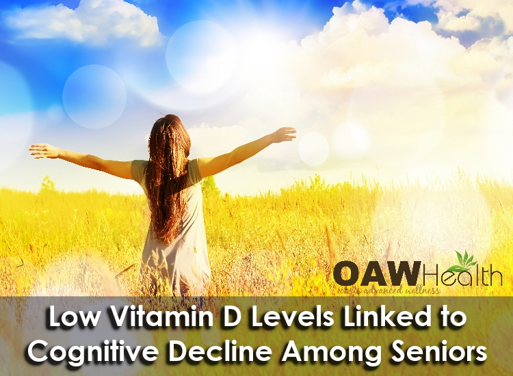 Low Vitamin D Levels Linked to Faster Cognitive Decline among Seniors
