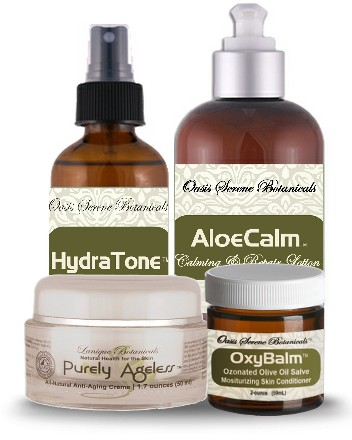 OAW Anti-Aging Skin Care Package from Oasis Serene™  Botanicals