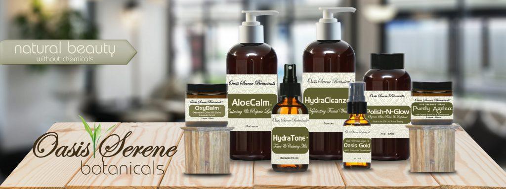 Oasis Serene Botanicals Safe Skin Care -