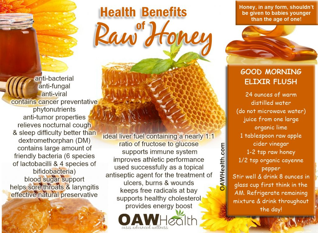 health benefits raw honey
