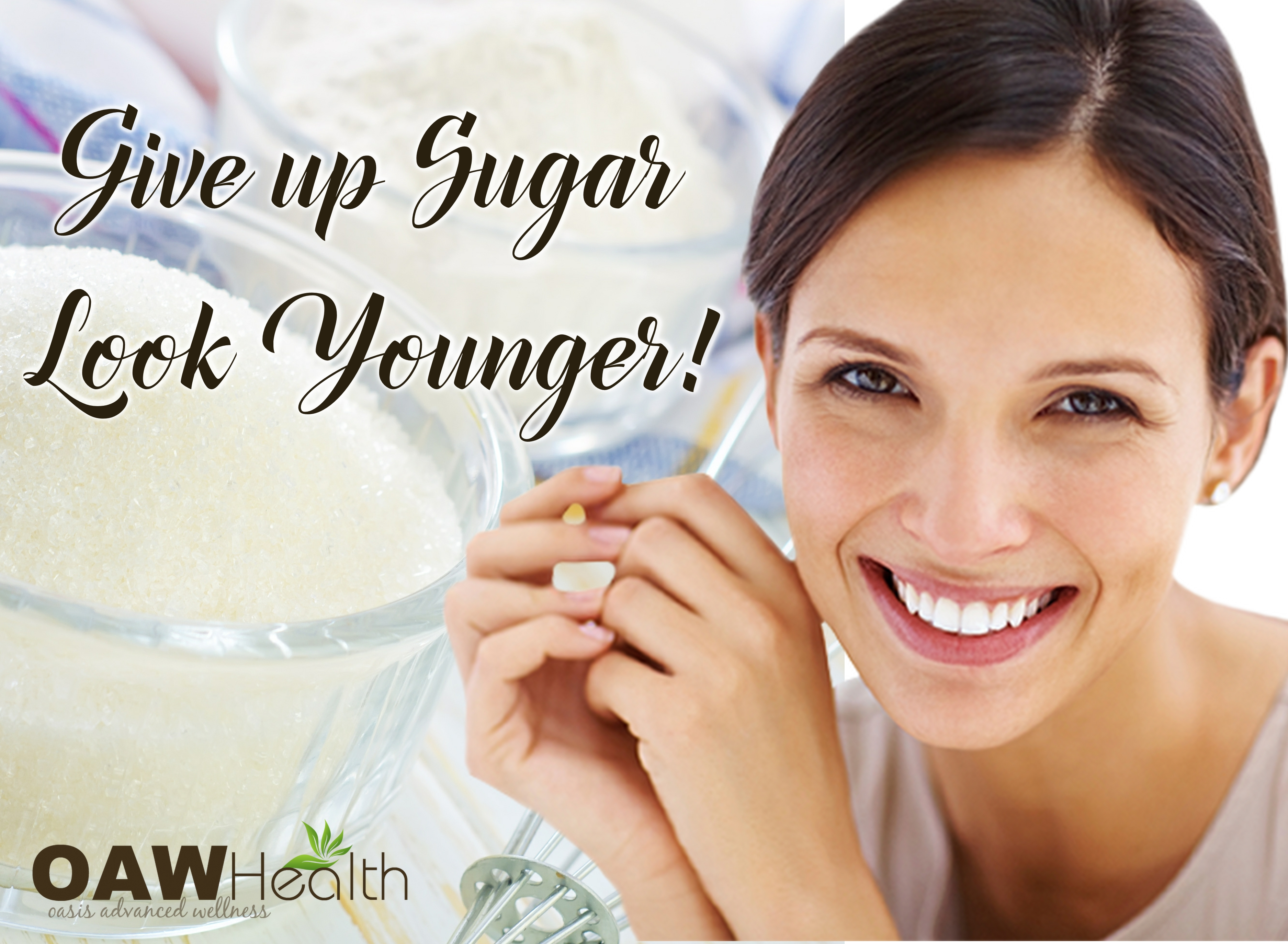 Give Up Sugar – Look Younger