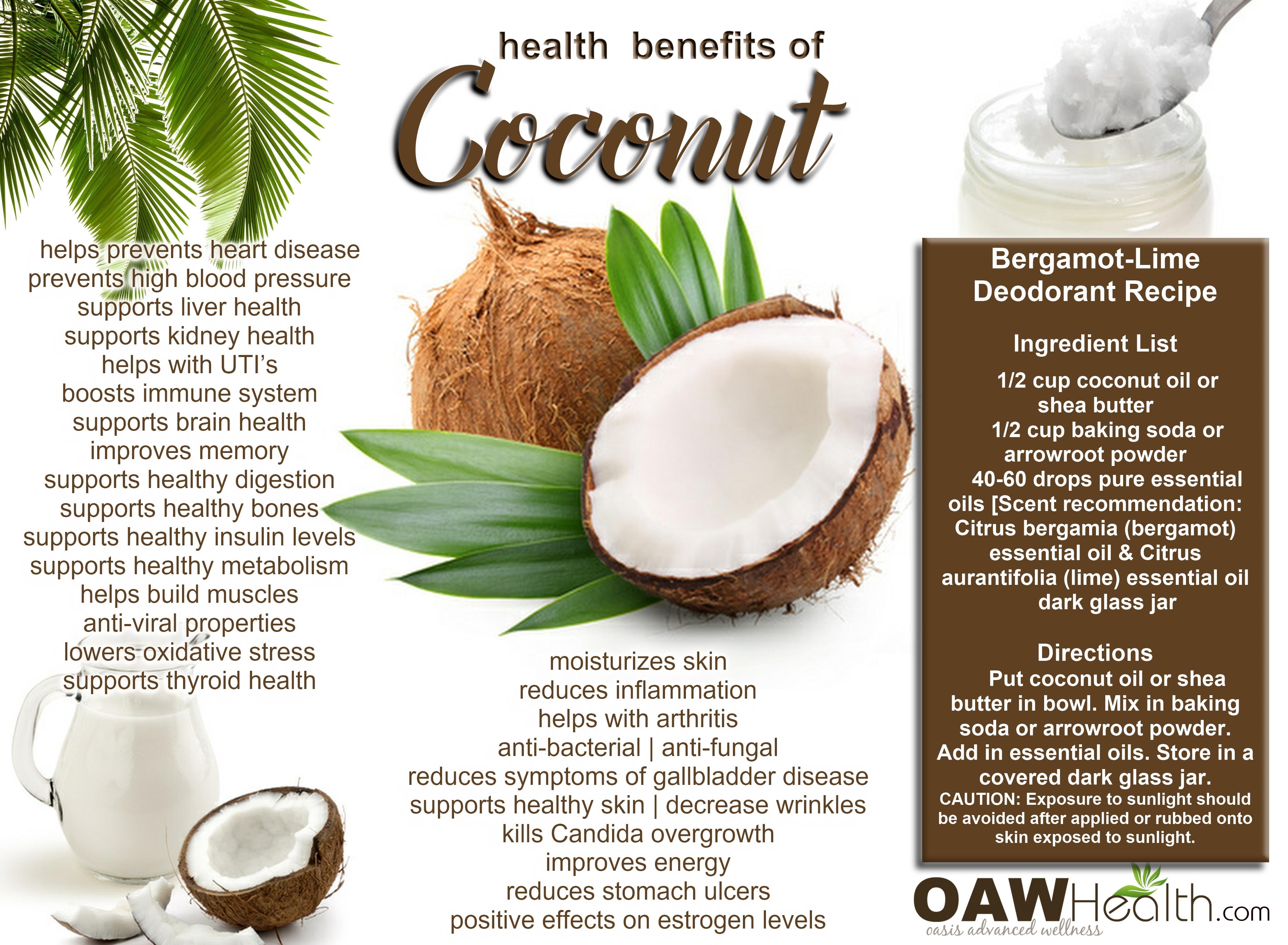 Best Health Benefits of Coconut