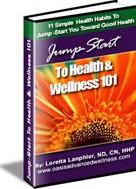 Jump Start To Health & Wellness 101 Ebook