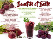 26 Benefits of Organic Beets
