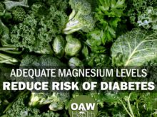Adequate Magnesium Levels Reduce Risk of Diabetes and More