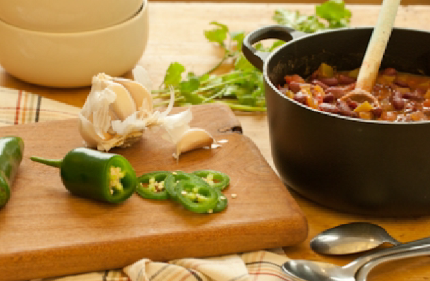 Easy Veggie Chili
