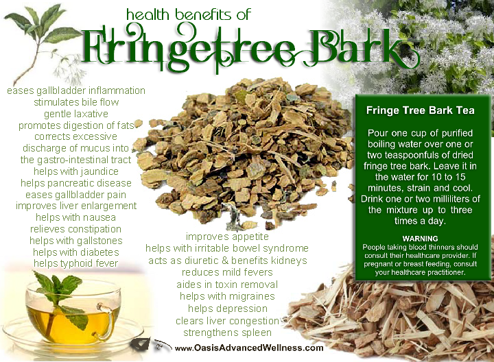 Health Benefits of Fringe Tree Bark