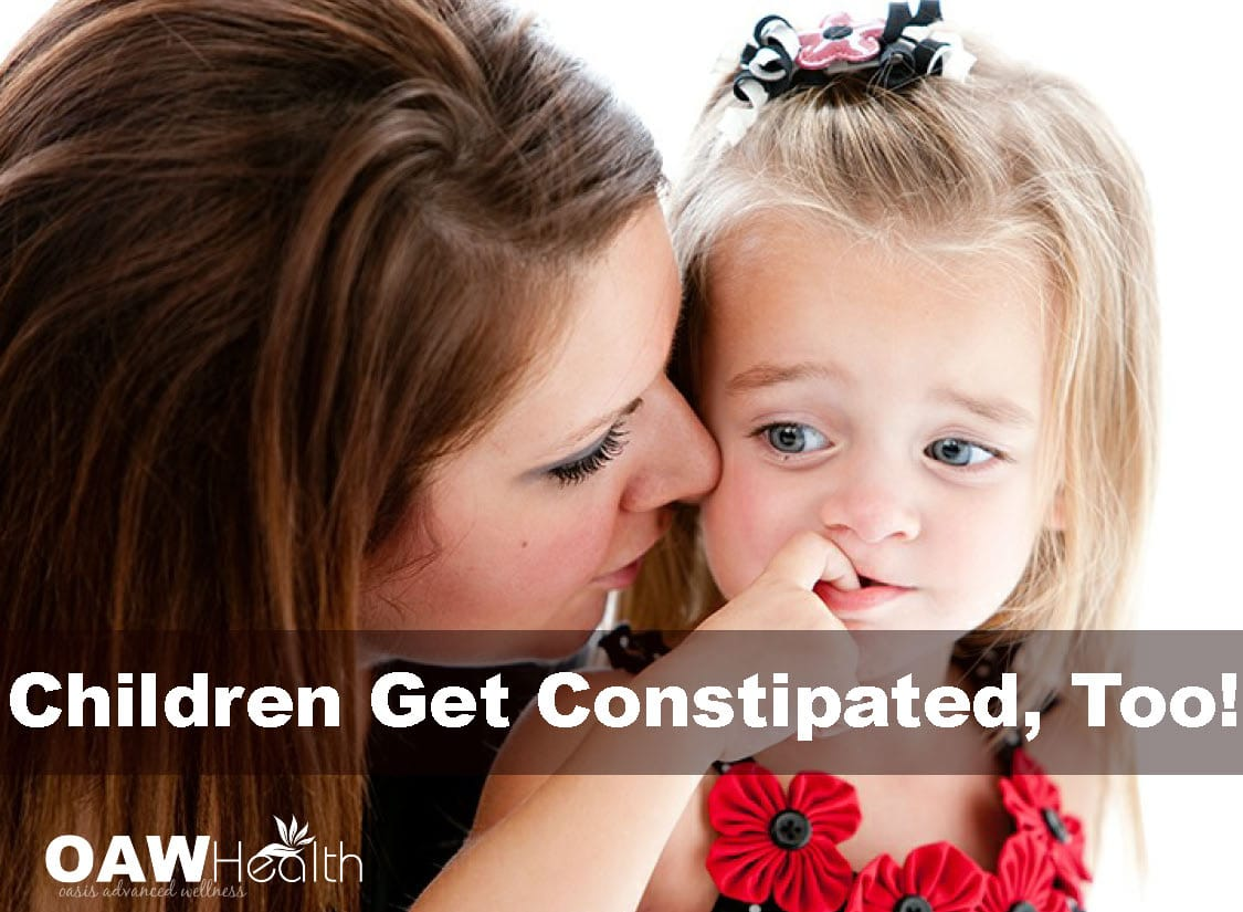 Children Get Constipated, Too