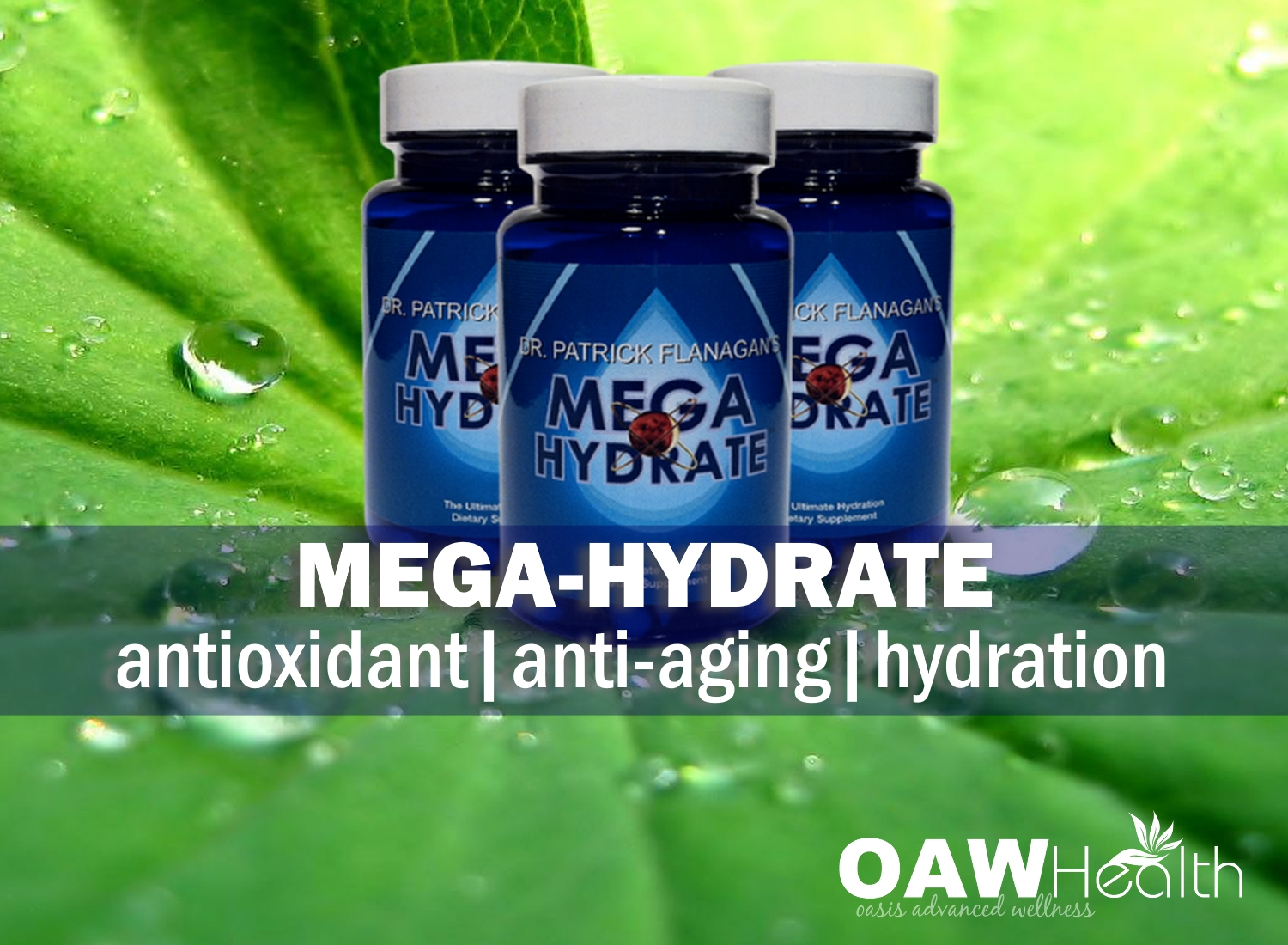 MegaHydrate – Antioxidant, Anti-Aging & Hydration Benefits