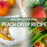 gluten-free peach crisp recipe