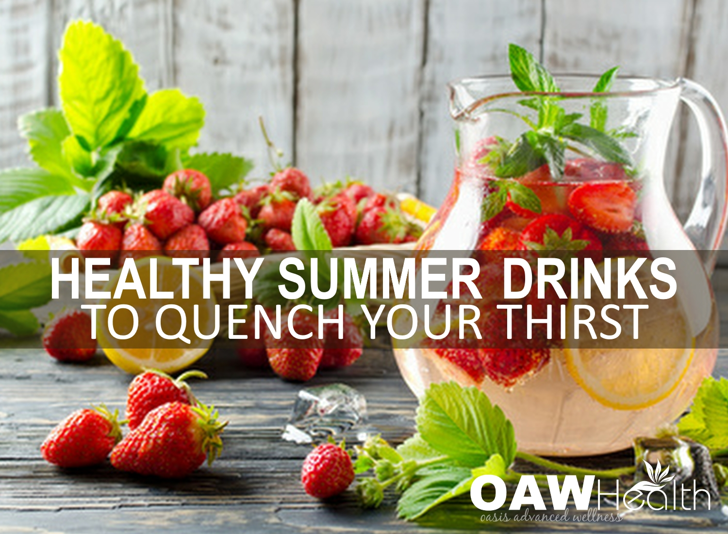 Healthy Summer Drinks to Quench Your Thirst
