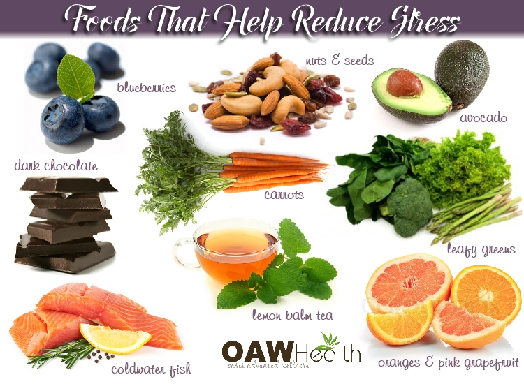foods that help reduce stress