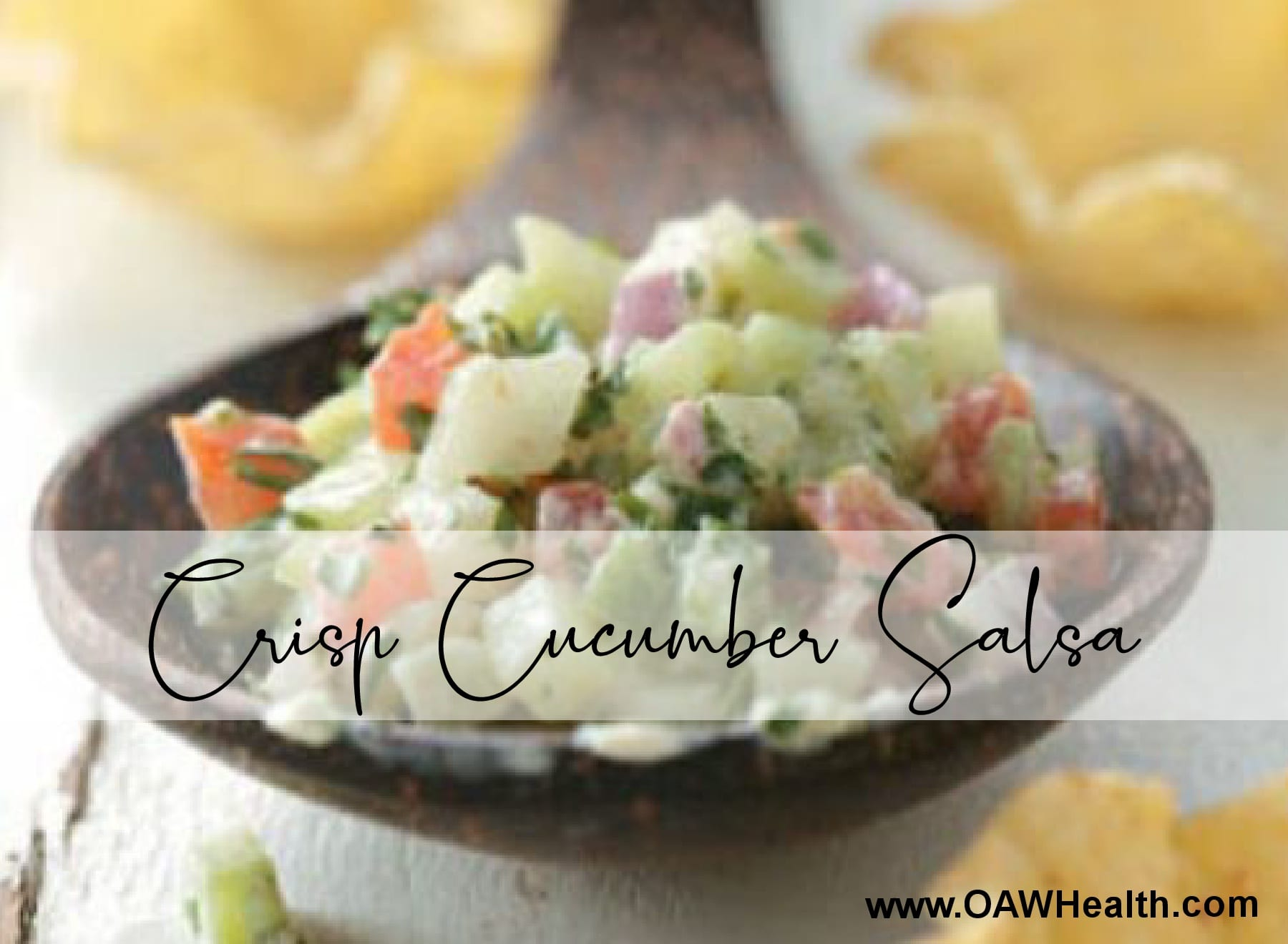Crisp Cucumber Salsa Recipe