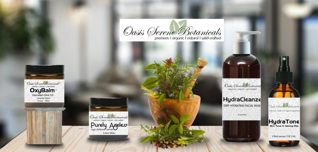 Oasis Serene Botanicals Premium Skin Care