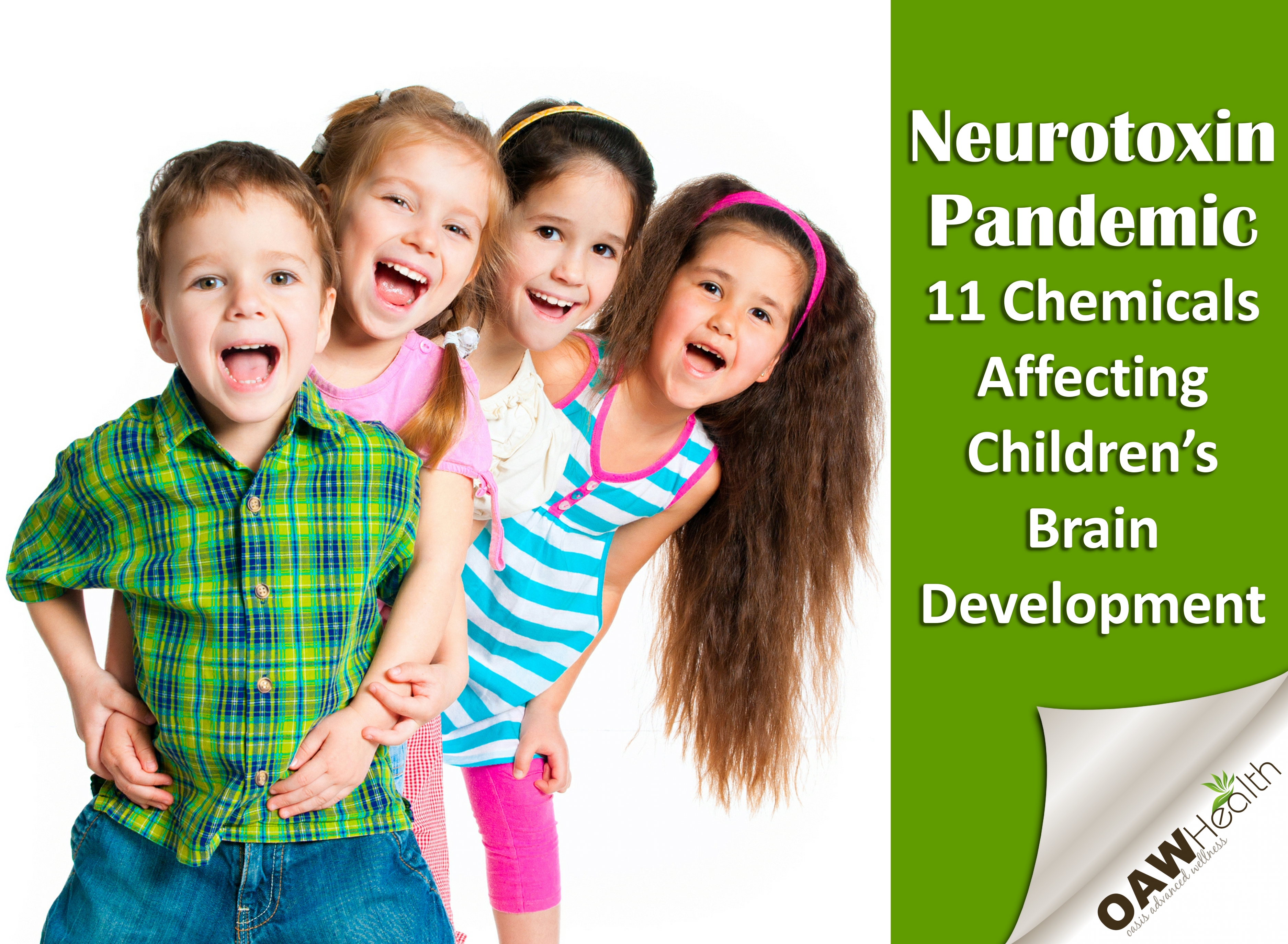 Silent Neurotoxin Pandemic: 11 Chemicals Affecting Children's Brain Development