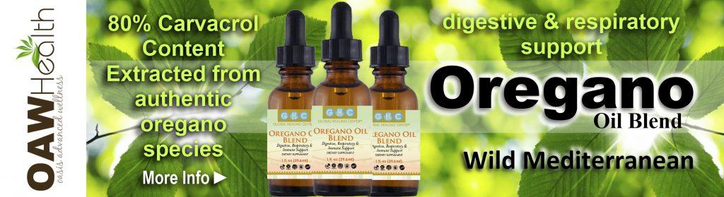 oregano oil blend banner
