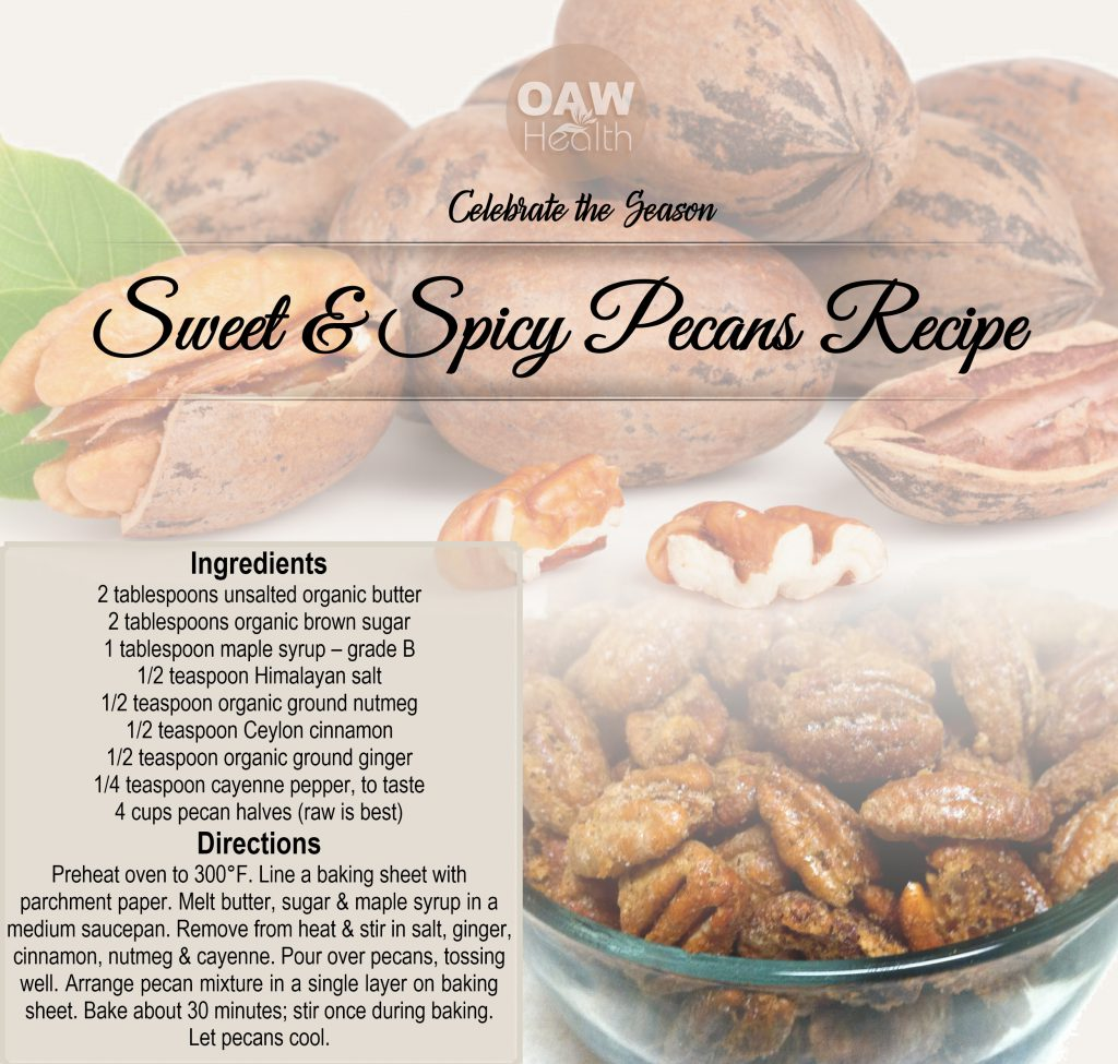 sweet and spicy pecan recipe