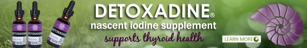 Detoxadine organic nascent iodine