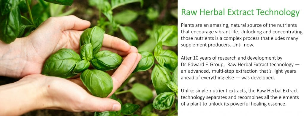 Raw Herbal Extract Technology
