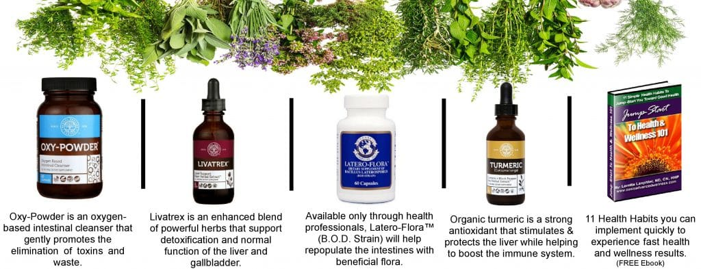 Optimum Wellness Liver Cleanse Kit Products