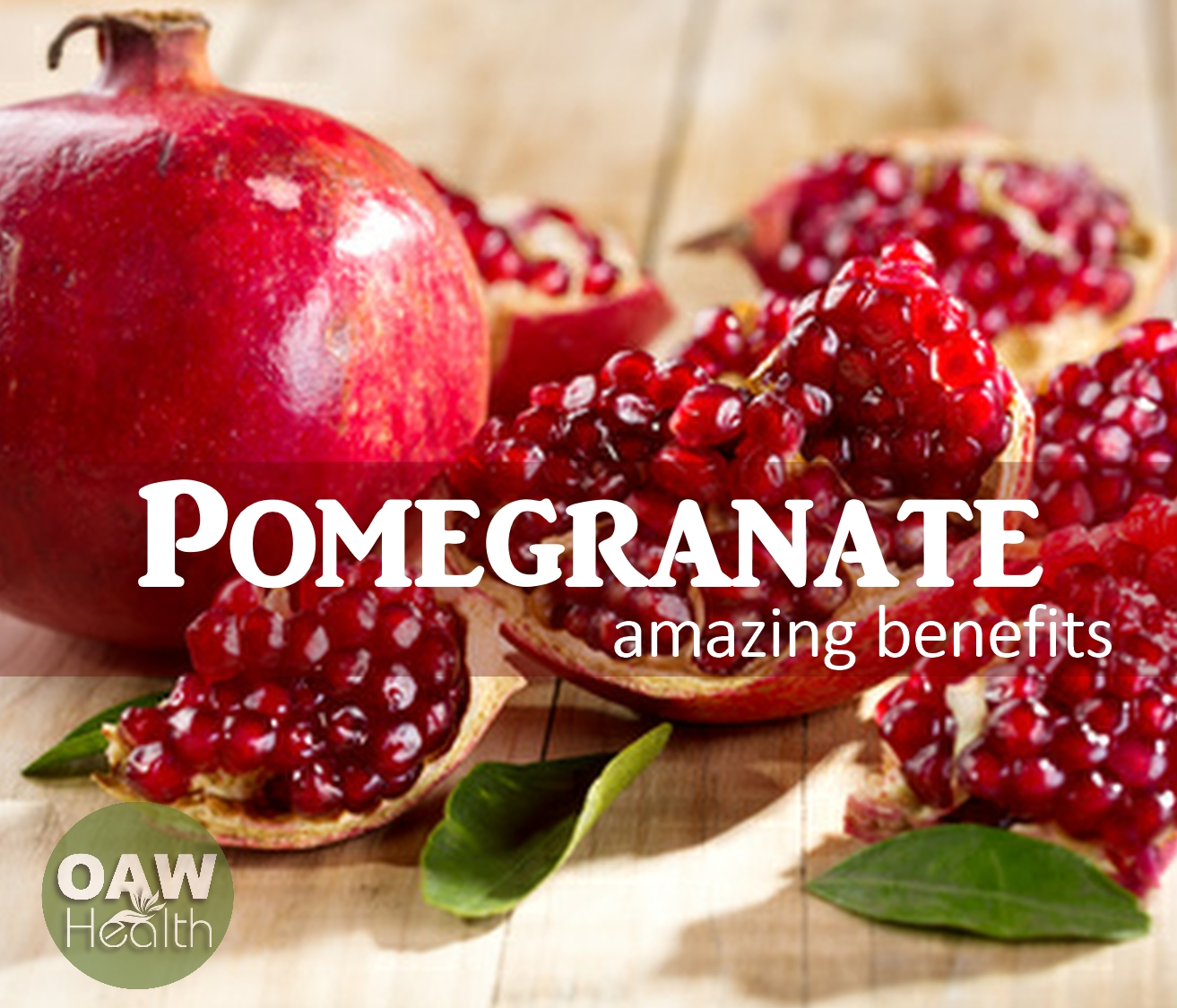Amazing Benefits of Pomegranate