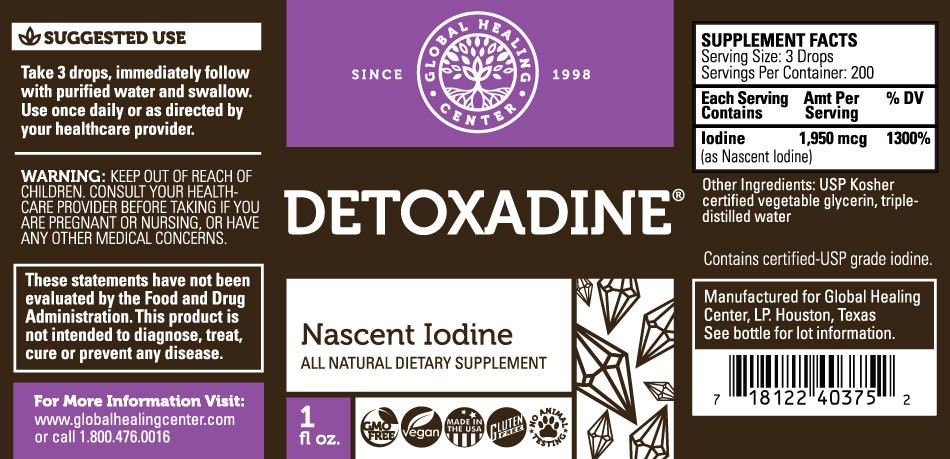 Detoxadine® Nascent Iodine Supplement