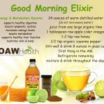 good morning health elixir recipe