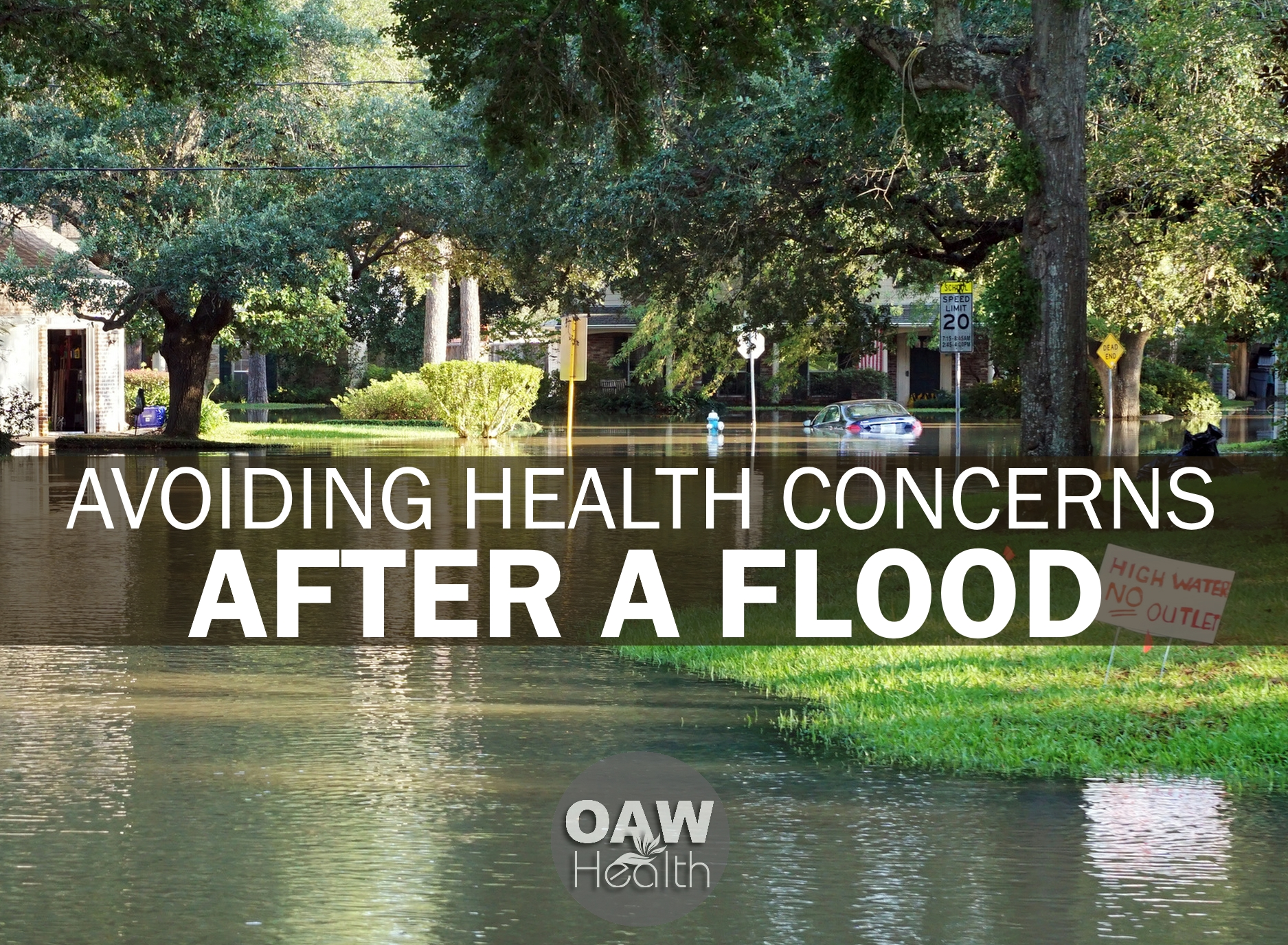 Avoiding Health Concerns after a Flood